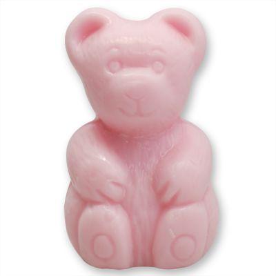 Pflanzenölseife Bär, 90g, rosa von Florex GmbH, Kinderseife