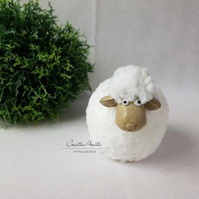 Schaf - Osterlamm - Lamm zu Deko