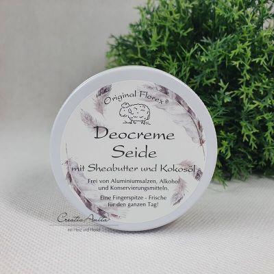 Deocreme -SEIDE- mit Sheabutter und Kokosöl, 40 g