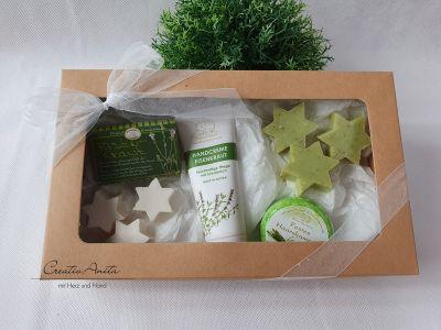 Geschenkbox EISENKRAUT mit hochwertiger Schafmilchkosmetik