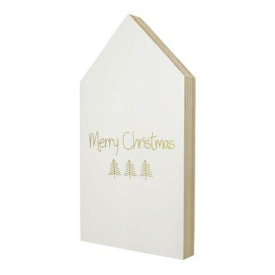 Haus - Weihnachten - Holzhaus