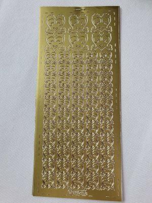 Sticker Ziersticker Konturensticker ORNAMENTE GOLD