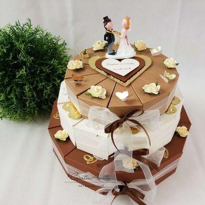 Hochzeitsgeschenk In Form Einer Torte Aussergewohnliches Geschenk