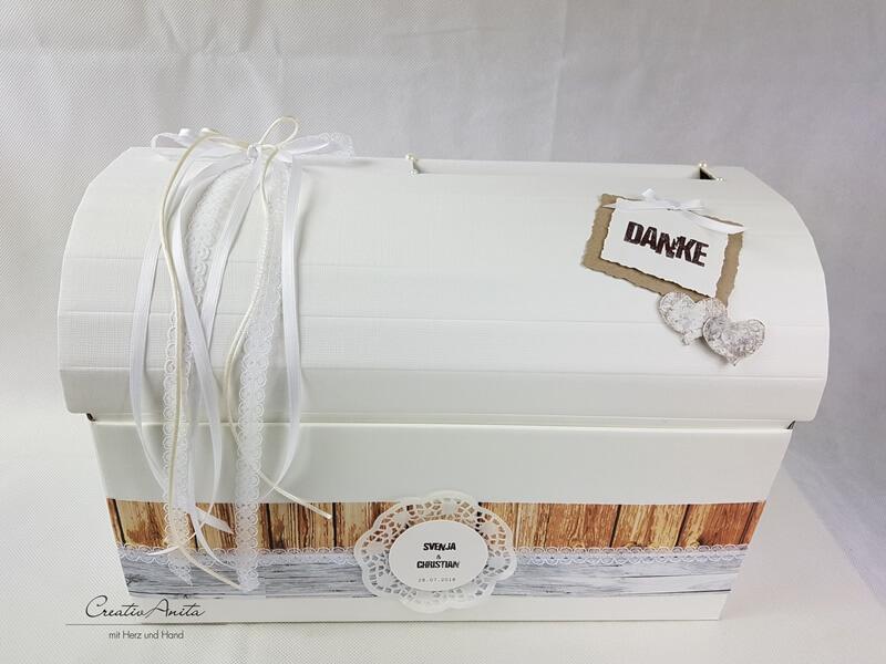 Briefbox Geschenktruhe Im Vintage Stil Creativanita