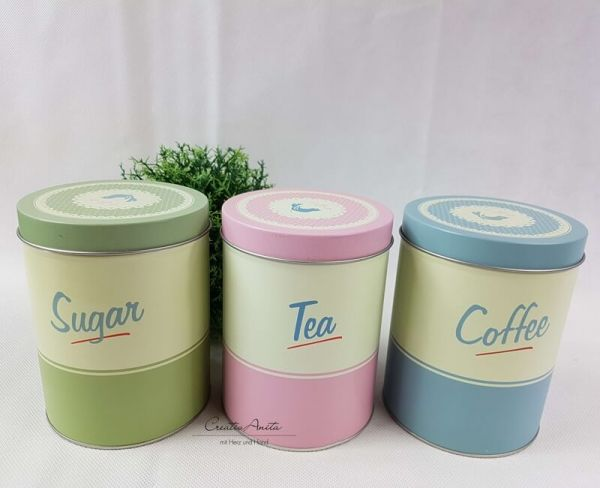 Vorratsdosen Coffee - Tea - Sugar - 3erSet